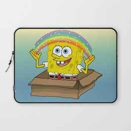 la imaginacion de bob Laptop Sleeve