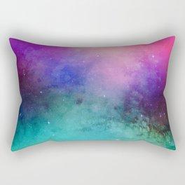 Mystical azure galaxy Rectangular Pillow