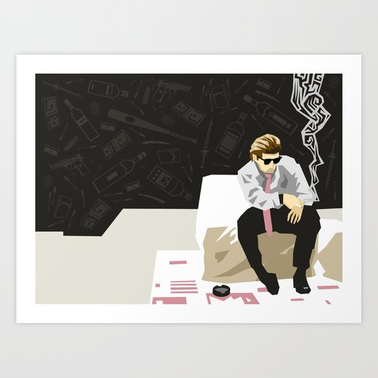 Vices Art Print