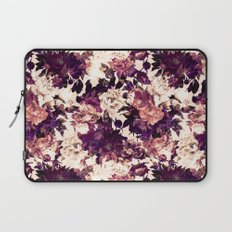 Watercolors Floral Pattern Laptop Sleeve