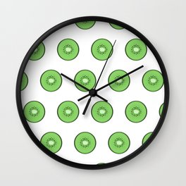 Kiwis for KL Wall Clock