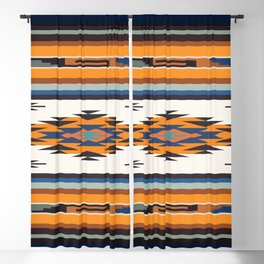 American Native Pattern No. 277 Blackout Curtain