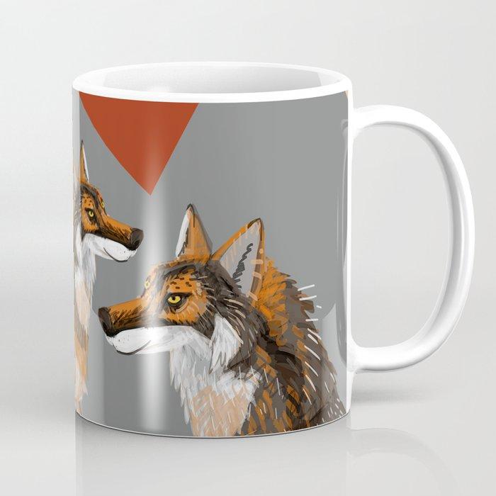 Totem Iberian wolf Coffee Mug