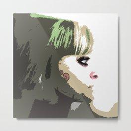 Fairy Face Metal Print