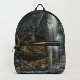 Upper North Falls, Late Summer, Vertical Backpack