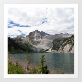 Snowmass Mountain, Colorado Art Print