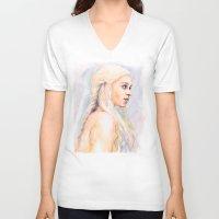danny haas V-neck T-shirts featuring Danny by Maria Bruggeman