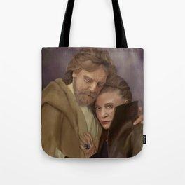 Luke and Leia Tote Bag
