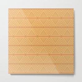 Egypt national ornament pattern Metal Print