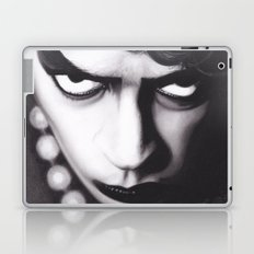 Realism Charcoal Drawing of Tim Curry as Frank N Furter in Rocky Horror Picture Show Laptop & iPad Skin