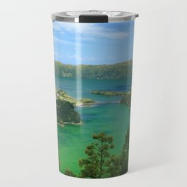 Lakes in Azores Travel Mug