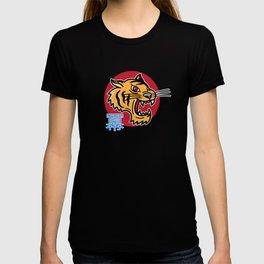 Japanese Tiger power Kanji Japanese Tattoo Art T-shirt
