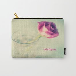 {Vintage} Carry-All Pouch