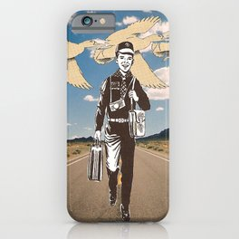 the traveler iPhone Case