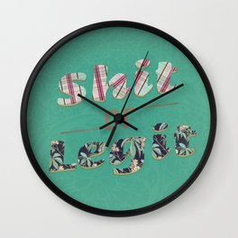 A doubt out of nowhere  Wall Clock