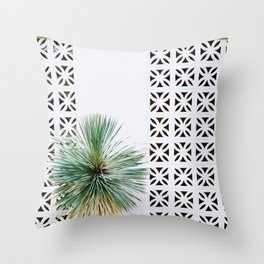 Palm Springs Breeze Block II Throw Pillow