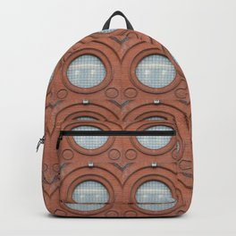 A Big Round Window Backpack