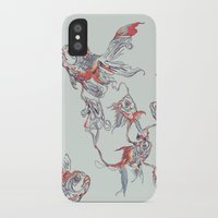 huebucket iPhone & iPod Cases featuring Floating in Deep by Huebucket