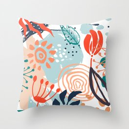 Essence of Spring Throw Pillow