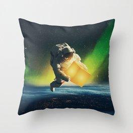 cosmic convergence Throw Pillow