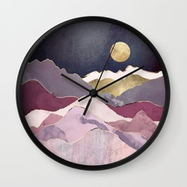 Raspberry Dream Wall Clock
