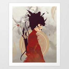 Sagitaire Art Print