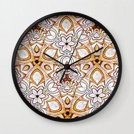 Bonitum Ornament #2 Wall Clock