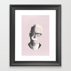Roger Sterling | Mad Men Portrait Framed Art Print