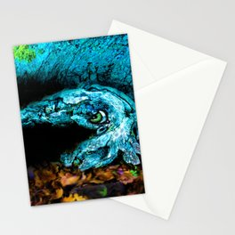 bark-ing shy cuttlefish Stationery Cards
