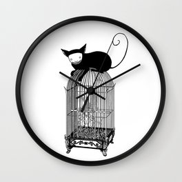 Cages Wall Clock