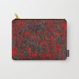 Volcano Girl Carry-All Pouch