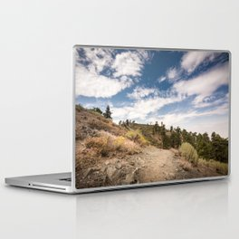 Hiking trail along Pacific Crest Trail in Southern California Laptop & iPad Skin