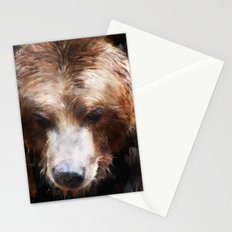 Bear // Gold Stationery Cards