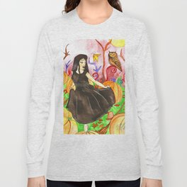 Pumpkin Fields Long Sleeve T-shirt