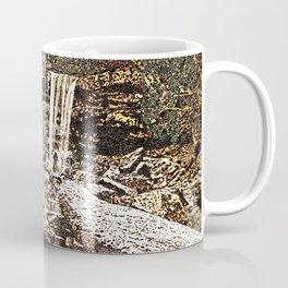 Waterfall, Valley Falls, Fairmont, WV Coffee Mug