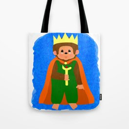 King of Teddyland Tote Bag