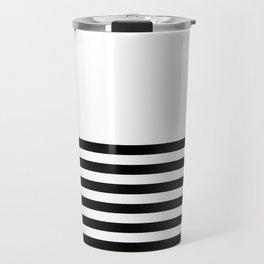 Half Stripes Travel Mug