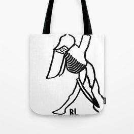 RL (knight) Tote Bag