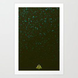 Trail Status / Green Art Print