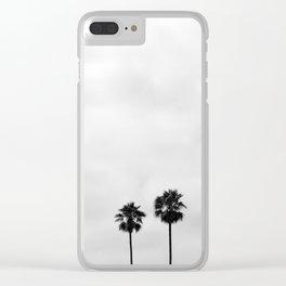 L.A. Palms Clear iPhone Case