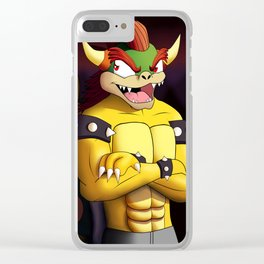 Anthro Bowser Clear iPhone Case