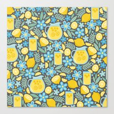 Evening Glass of Lemonade Canvas Print