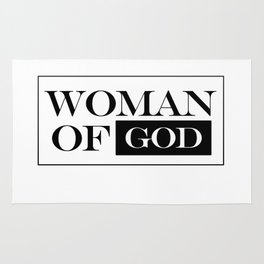 Woman of God Rug