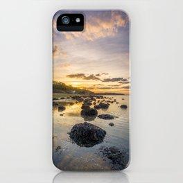 Sunset The Rockery Isle of Wight iPhone Case