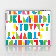 Alphabet Laptop & iPad Skin
