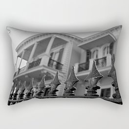 The Fence of the House Rectangular Pillow