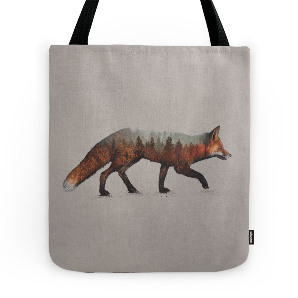 The Red Fox Tote Purse by daviesbabies (TBG9661991) photo