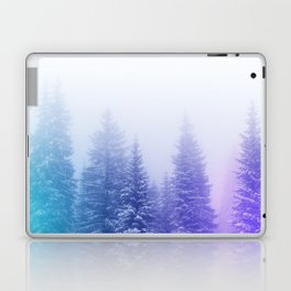 Blue and Purple Pines Laptop & iPad Skin