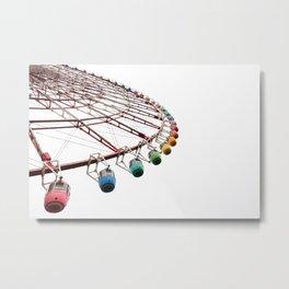 tokyo ferris wheel Metal Print