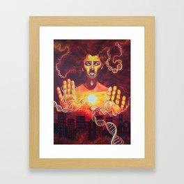 Karmic Burn Framed Art Print